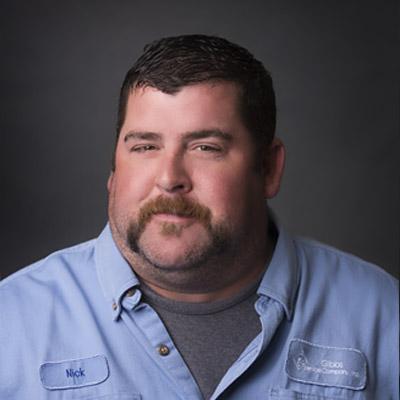 Nick MacArthur, Maintenance Tech