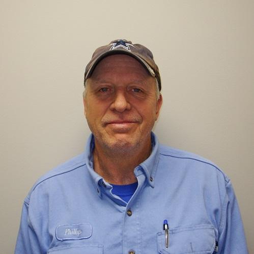 Phillip Ginn, Service Tech
